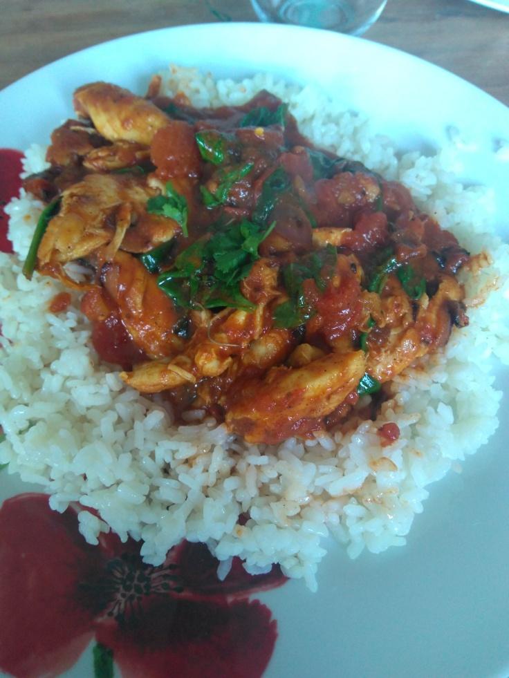 22.05.2018 - Chicken curry